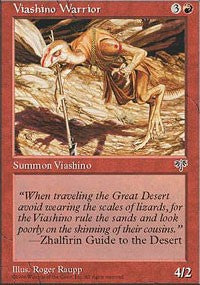 Viashino Warrior [Mirage] | Dragons Den Cards & Games