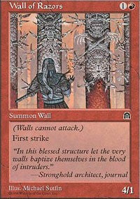 Wall of Razors [Stronghold] | Dragons Den Cards & Games