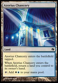 Azorius Chancery [Duel Decks: Venser vs. Koth] | Dragons Den Cards & Games