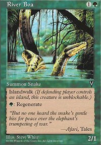River Boa [Visions] | Dragons Den Cards & Games