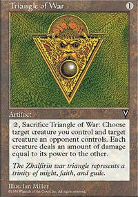 Triangle of War [Visions] | Dragons Den Cards & Games