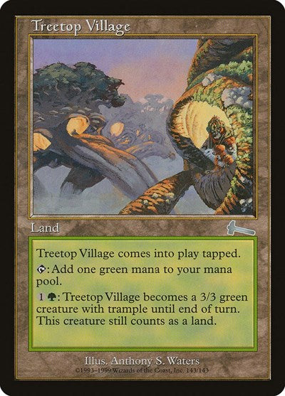 Treetop Village [Urza's Legacy] | Dragons Den Cards & Games