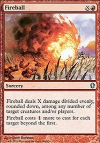 Fireball [Commander 2013] | Dragons Den Cards & Games