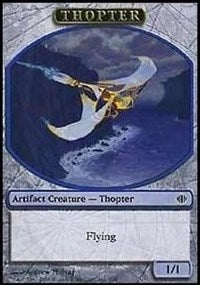 Thopter Token [Shards of Alara Tokens] | Dragons Den Cards & Games