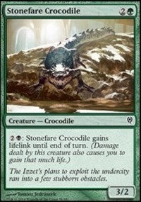 Stonefare Crocodile [Duel Decks: Jace vs. Vraska] | Dragons Den Cards & Games