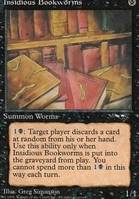 Insidious Bookworms [Alliances] | Dragons Den Cards & Games