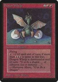 Dragon Whelp [Limited Edition Beta] | Dragons Den Cards & Games