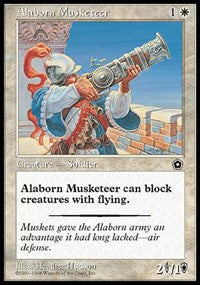 Alaborn Musketeer [Portal Second Age] | Dragons Den Cards & Games