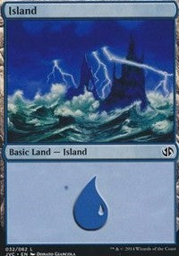 Island (32) (Jace vs. Chandra) [Duel Decks Anthology: Jace vs. Chandra] | Dragons Den Cards & Games