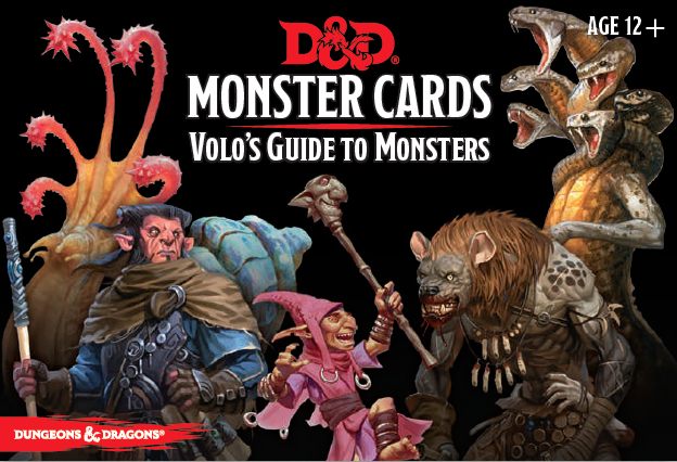 Dungeons & Dragons: Volo's Guide to Monsters Cards | Dragons Den Cards & Games