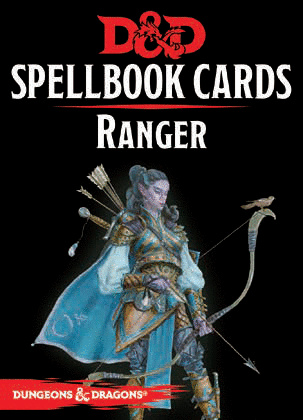 Dungeons & Dragons: Ranger Spellbook Cards | Dragons Den Cards & Games