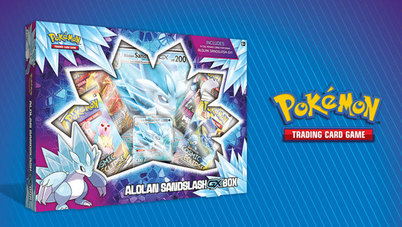 Pokémon TCG: Alolan Sandslash-GX Box | Dragons Den Cards & Games