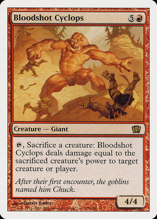 Bloodshot Cyclops [Eighth Edition] | Dragons Den Cards & Games