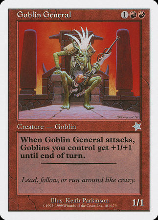 Goblin General [Starter 1999] | Dragons Den Cards & Games