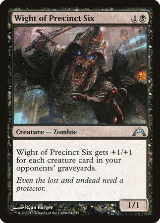 Wight of Precinct Six [Gatecrash] | Dragons Den Cards & Games