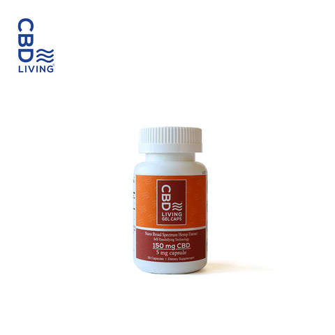 CBD LIVING / CBD GEL CAPSULES 5MG/PC - 30PCS