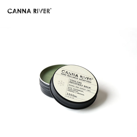 CANNA RIVER / CBD COOLING RECOVERY BALM - 57.5g / 1000mg