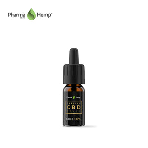 PHARMA HEMP / PREMIUM BLACK CBD DROPS - TINCTURE