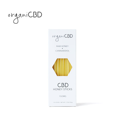 ORGANICBD / CBD HONEY STICKS - 50g / 150mg