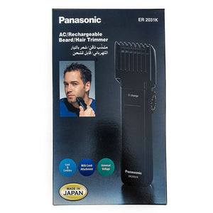 Panasonic Beard/Hair Trimmer ER 2031K