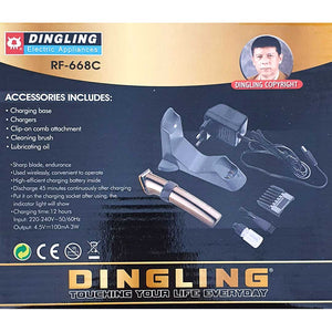 Original Dingling RF-668C Metallic Copper Trimmer