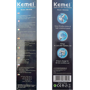 Kemei Nose and Hair Trimmer KM-3300