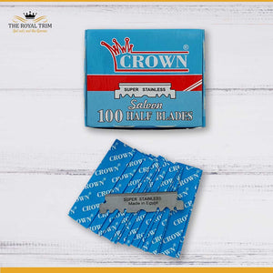 Crown Super Stainless 100 Half Blades - LIMITED EDITION