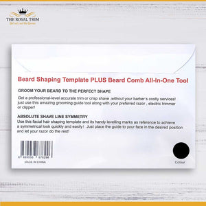 Beard Shaping Template - All in One Tool