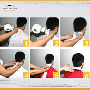 Disposable Waterproof Neck-paper Strips