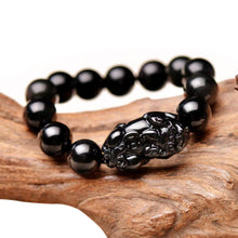 Load image into Gallery viewer, Pi Yao Obsidian Wealth Bracelet