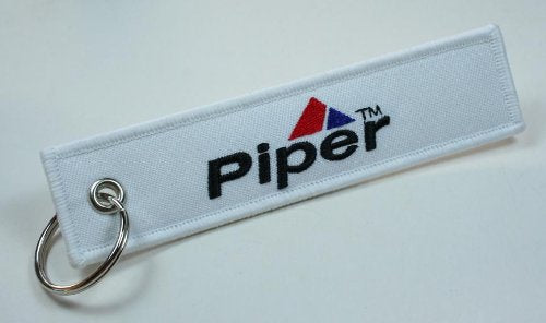 [AUSTRALIA] - Piper Aircraft Aviation Keychain for Flight Crew, Pilots, Air Crew, Airplane and Aircraft Owners