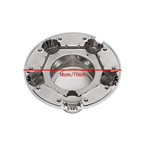 "[AUSTRALIA] - kaling Wheel Center Hub Cap with 7"" Cap for Ford F150 Expedition 1997-2004 Chrome"
