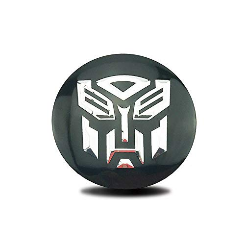 [AUSTRALIA] - BENZEE 4pcs D083 65mm Car Emblem Badge Sticker Wheel Hub Caps Centre Cover TRANSFORMER