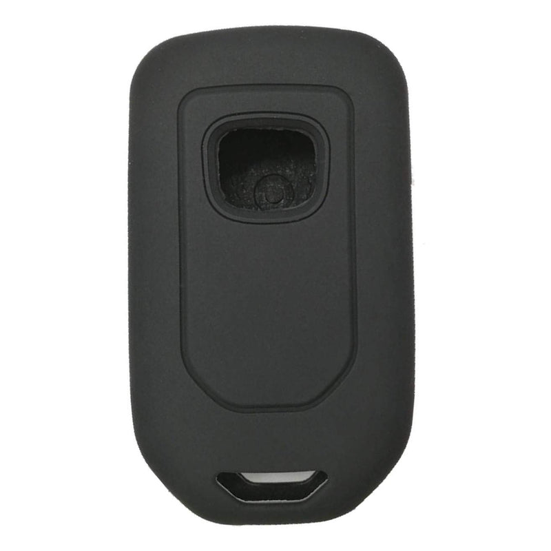 [AUSTRALIA] - WFMJ 2Pcs Black Silicone for Honda Accord EX EX-L Civic 4 Buttons Remote Smart Key Chain Cover Case Fob