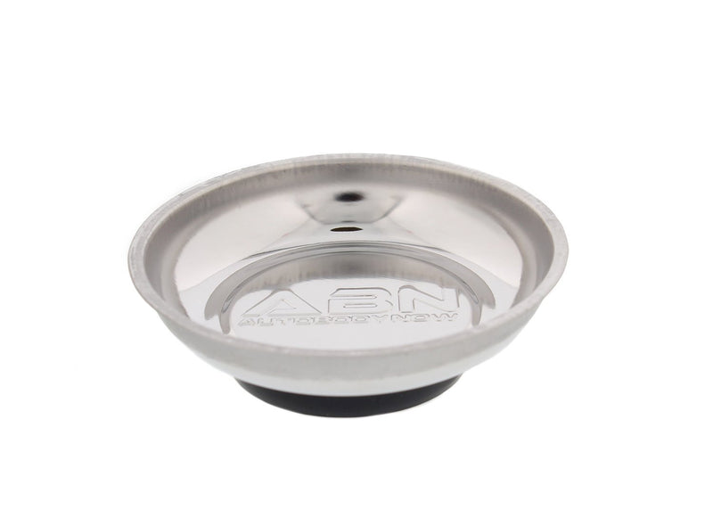 [AUSTRALIA] - ABN Magnetic Tray for Mechanics, Magnetic Parts Tray Magnetic Bowl - Magnetic Tool Holder - 4.2 Inch Round 1-Pack