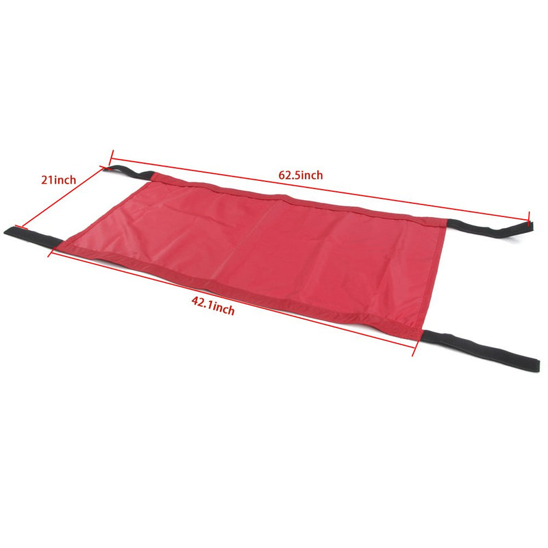 [AUSTRALIA] - RT-TCZ New Style Red Car Roof Hammock Car Bed rest For Jeep Wrangler 2007-2017