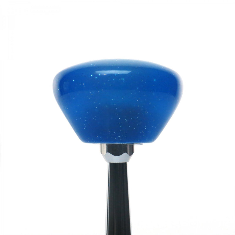 [AUSTRALIA] - American Shifter 289300 Shift Knob (Black Hello Titty Blue Retro Metal Flake with M16 x 1.5 Insert)