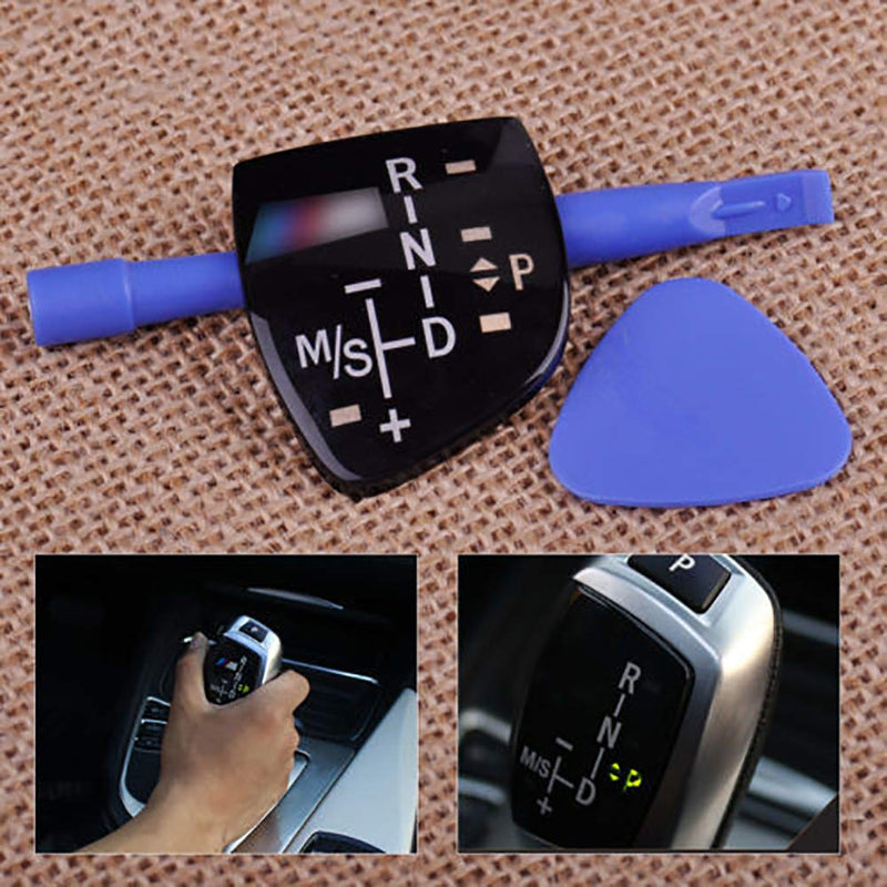 [AUSTRALIA] - for BMW X1 X3 M3 M5 F01 F10 F30 F35 F18 at Gear Sticker Shift Knob Panel