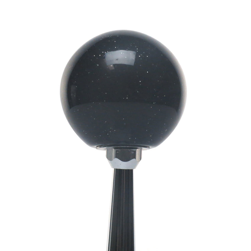 [AUSTRALIA] - American Shifter 301909 Shift Knob (White YeeHa 4 Speed Black Metal Flake)