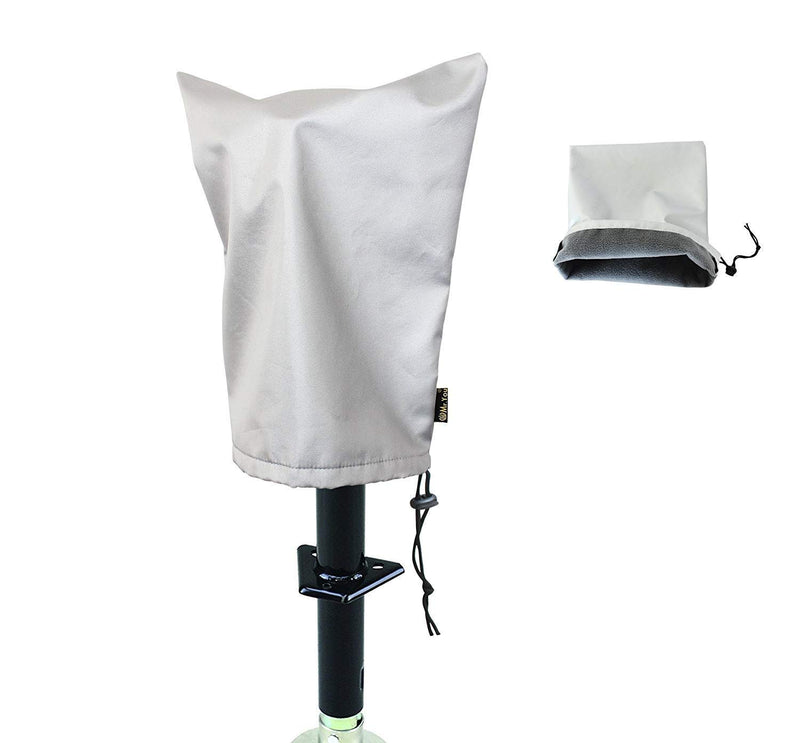 [AUSTRALIA] - Mr.You Electric Tongue Jack Cover - Universal Fit for Most Trailer RV Electric Tongue Jack,with Thicker Cashmere Fabric Heavy Duty Waterproof No Tear No Fading(W14.5H17.5in) 14.5''x 17.5''