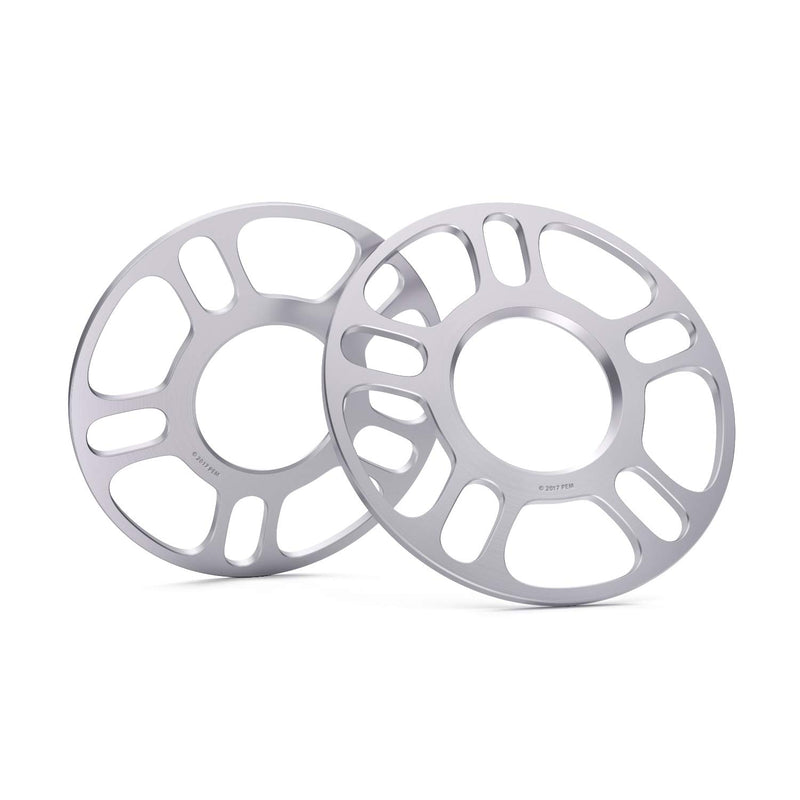 [AUSTRALIA] - 2pcs 5mm Hubcentric Wheel Spacers 5x100 and 5x112 (57.1mm Bore) Works with Audi TT A3 A4 A6 A8 S4 S6 S8 Volkswagen Jetta Golf GTI R32 Corrado Beetle EOS CC Passat 5mm Thickness