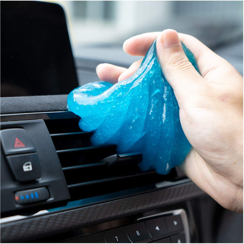 Sendida Car Cleaning Putty Detailing Glue - Auto Interior Cleaner Kit Gel Putty Slime Detailing Mud Dust Set for PC Tablet Laptop Keyboards Car Vents Cleaner Goop - LeoForward Australia