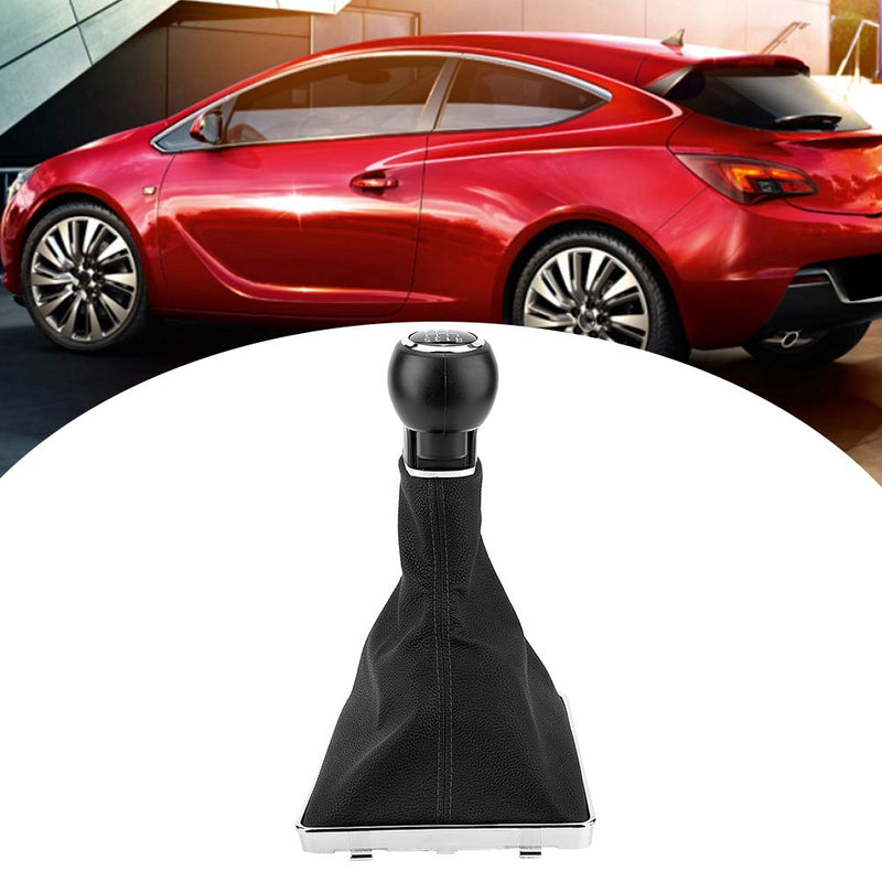 [AUSTRALIA] - Gear Shift Knob 5 Speed & 6 Speed Gaiter Boot Cover for Astra Corsa GTC 2005-2010 (6 speed)