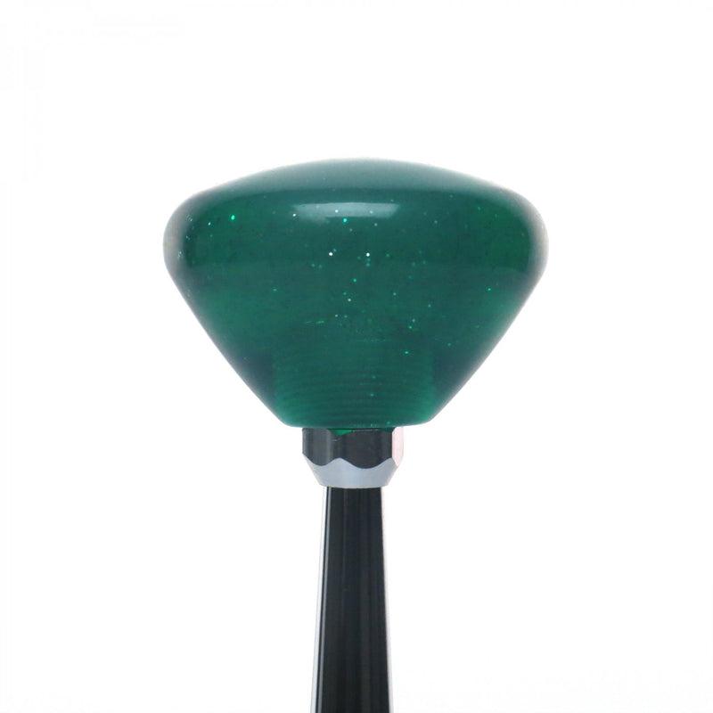 [AUSTRALIA] - American Shifter 302137 Shift Knob (Blue YeeHa 4 Speed Green Retro Metal Flake)