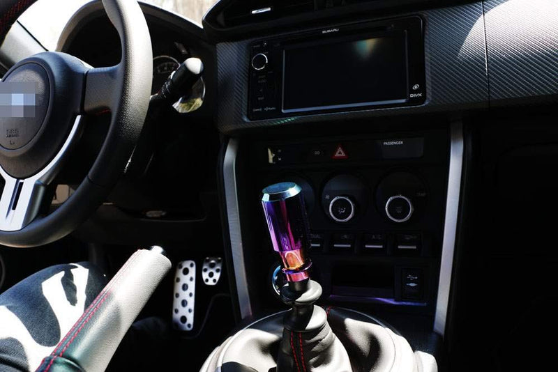 [AUSTRALIA] - iJDMTOY JDM Neo Chrome Manual or Automatic Shift Knob, Universal Fit, Compatible with Chevrolet Honda Acura Mazda Mitsubishi Nissan Infiniti Lexus Toyota Scion, etc