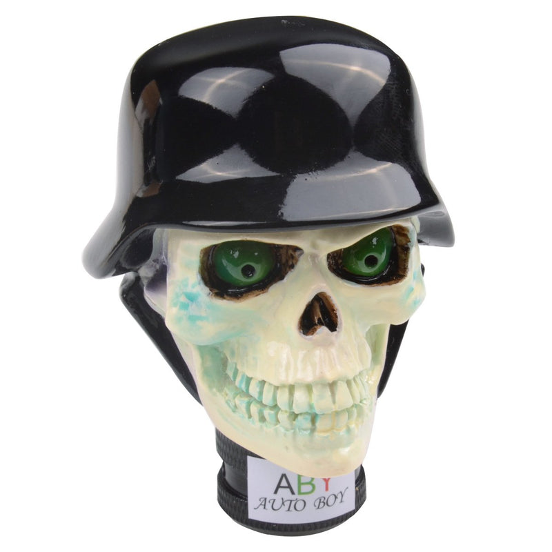[AUSTRALIA] - ABy Resin Zombie Soldier Skull Shape universal Auto Car Manual Gear Stick Shift Knob