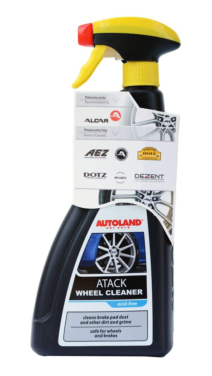 [AUSTRALIA] - AutoLand Acid Free Wheel Cleaner - Safe On Wheels and Brakes - Removes Brake Dust, Grease, and Road Dirt - 360 Degree Spray - for Car, Truck, and Motorcycle Wheels (1) 1