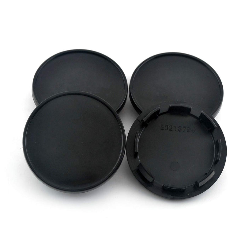 [AUSTRALIA] - 66mm(2.6in)/55.5mm(2.17in) Wheel Center Caps Set of 4 for #3B760117#15G0601171 CC 2016-2017 Replacement