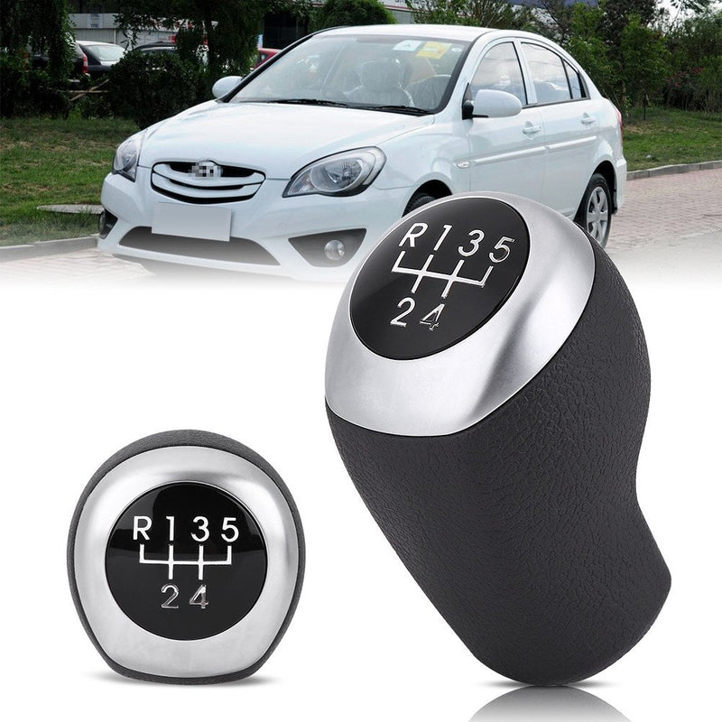 [AUSTRALIA] - Gear Shift Knob, 5 Speed Car Gear Stick Shift Knob Head for Hyundai Accent 2011-2014