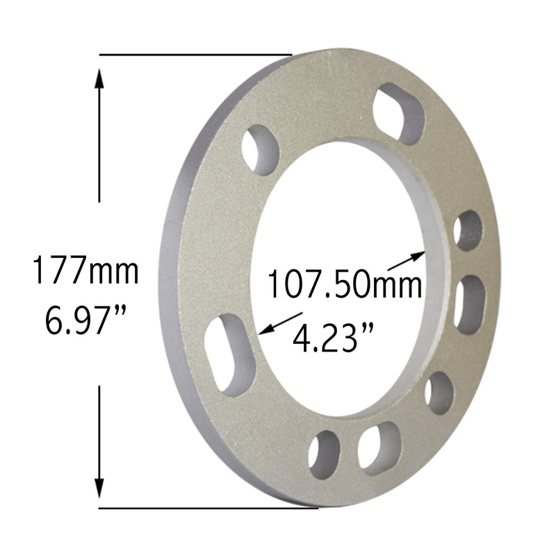 "[AUSTRALIA] - Universal Spacers 12mm (1/2"") Thickness Wheel Spacers for 5x135mm, 5x139.70mm (5x5.50), 6x135mm, 6x139mm (6x5.50) - Set of 2"